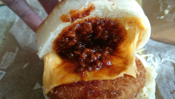 マクドナルド・デミチーズグラコロ・デミグラスソースとチェダーチーズ