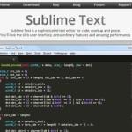 人気で無料のテキストエディタ「Sublime Text 2」まずは初期設定から日本語対応まで
