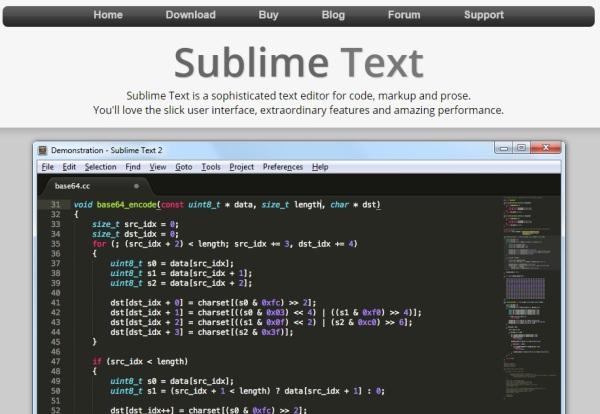Sublime Text2