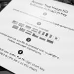 CrucialのSSDに同封されているAcronis True Imageでクローンを作る方法/バックアップの取り方