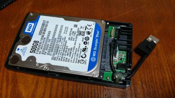 玄人志向 SSD/HDDケース 組み立て