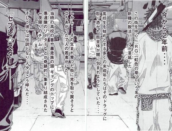 セブン☆スター 漫画