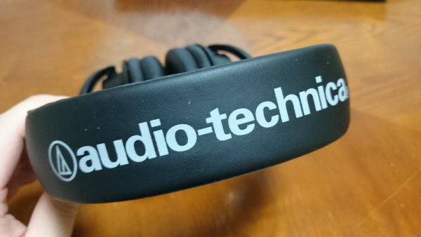 audio-technica ATH-M50x ロゴ