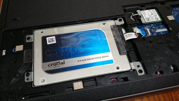 INSPIRON15 5558 SSD換装