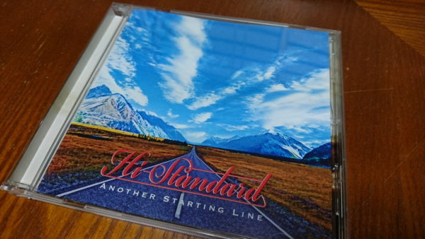 Hi-STANDARD ANOTHER STARTING LINE ジャケット