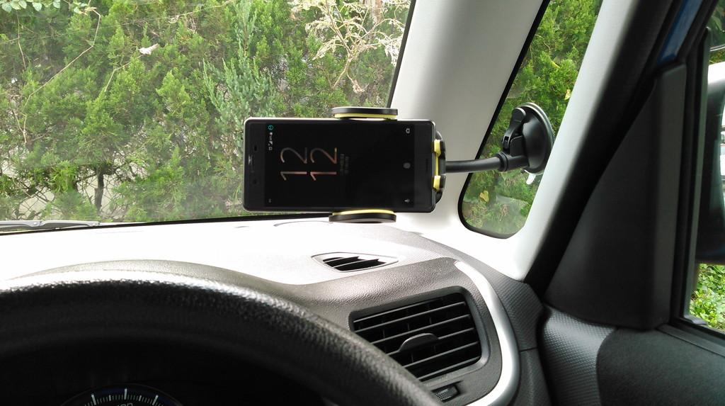 Omakerの3in1セット車載ホルダー 横画面
