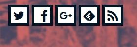 Simplicity カスタマイズ フォローボタン