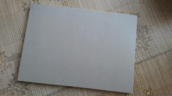 タワレコB2ポスターファイル 中のダンボール