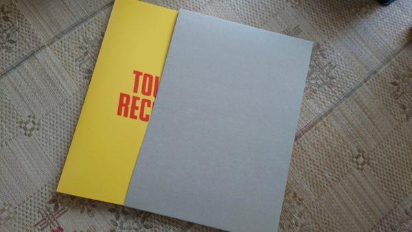 タワレコB2ポスターファイル 開封