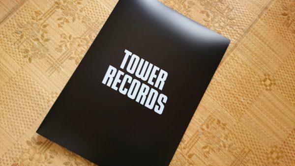 タワレコB2ポスターファイル ブラック