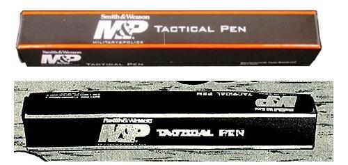 闇金ウシジマくん タクティカルペン スミス&ウェッソン M&Pタクティカルペン 黒 アルミ 箱