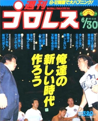週刊プロレス 1987年6月30日号 No.210