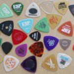 ギターのピックの話。弾き心地とグリップ感と耐摩耗性、でも結局は価格?