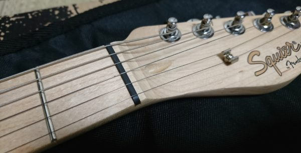 Squier Affinity Telecaster 指板 ナット