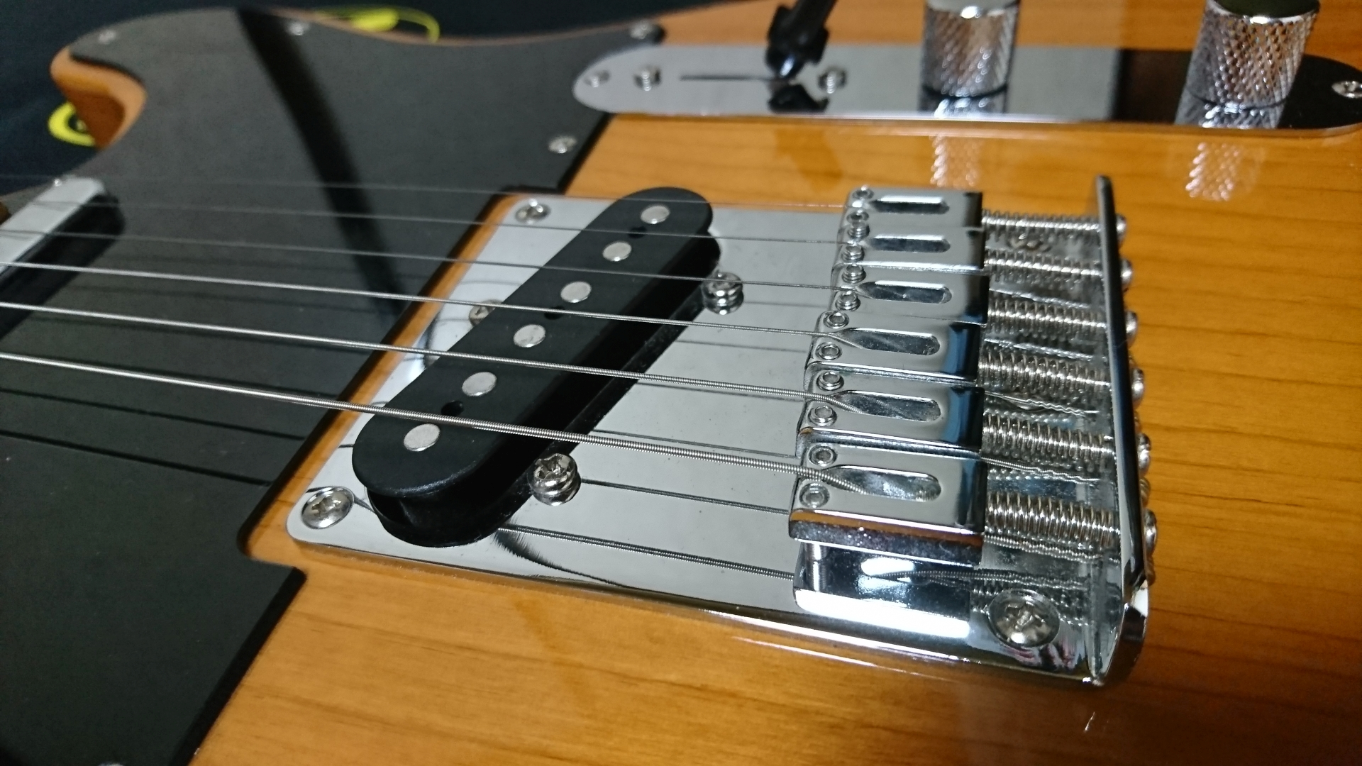 Squier Affnity Telecaster ブリッジ