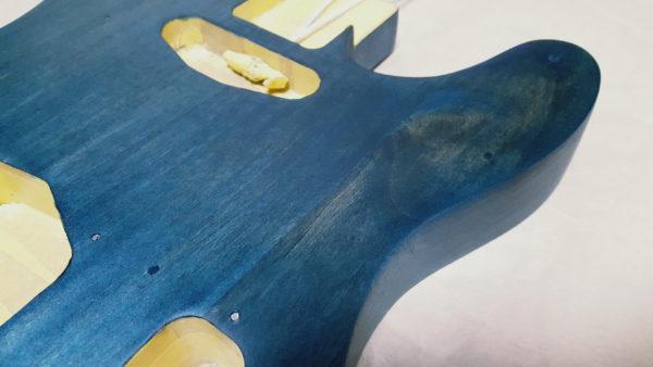 ギターオイルフィニッシュ  ホーン