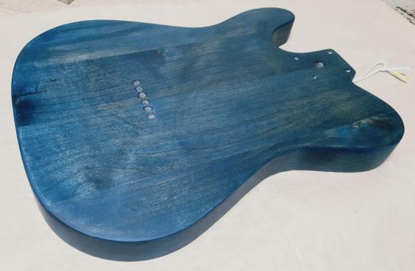 ギターオイルフィニッシュ  バック