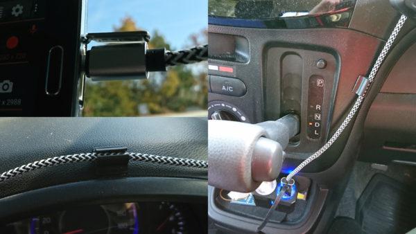 ドライブレコーダー DailyRoads Voyager 配線処理