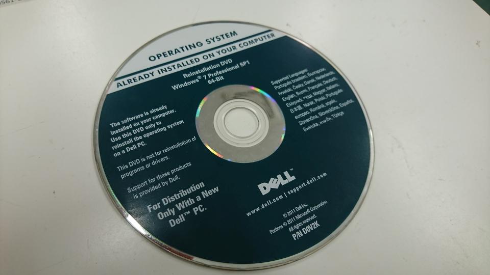 第6世代CPU(Skylake)搭載のPCにWindows7をインストール インストールメディア